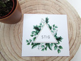Geboortekaartje Stig_