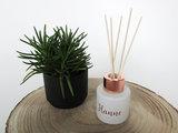 Parfumflesje wit met huisparfum