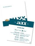 Geboortekaartje Jaxx - Achterkant