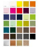 Kubusdoosje kleurkaart