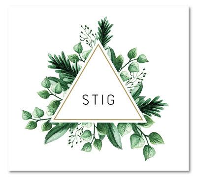 Geboortekaartje Stig