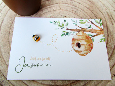 Geboortekaartje Jasmine