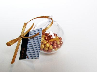 Plastic bal transparant