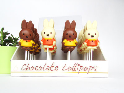 Chocolade lollies Nijntje