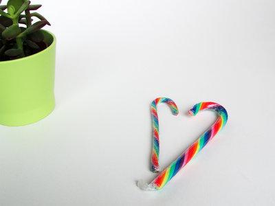 Candy Cane regenbooglolly