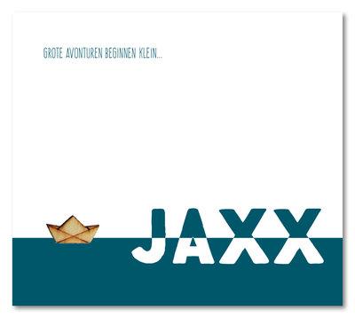 Geboortekaartje Jaxx