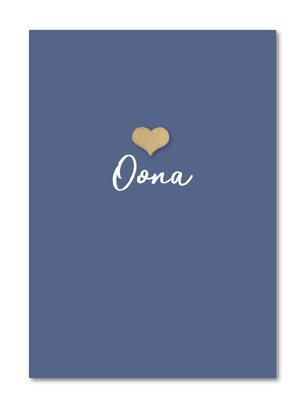 Geboortekaartje Oona
