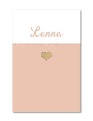 Geboortekaartje Lenna