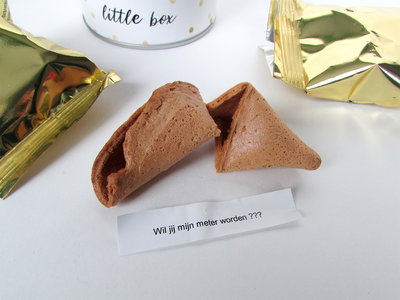 Fortune cookie wil jij mijn meter worden