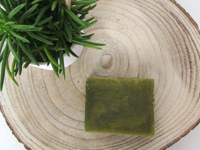 Zeepblok olijfgroen