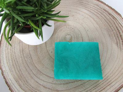 Zeepblok turquoise