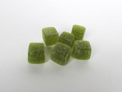 Vierkante gommen groen