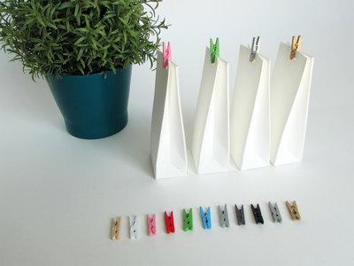 Gekleurde wasknijpers