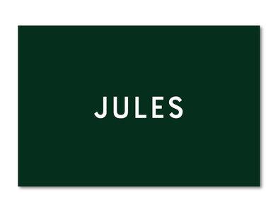 Geboortekaartje Jules donkergroen